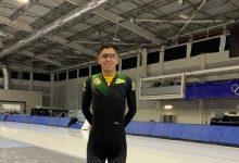 Arbeláez comenzó participación en nacionales de patinaje sobre hielo