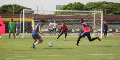 Evaluados entrenamientos grupales en el fútbol profesional colombiano
