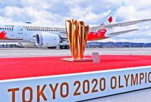 Llama olímpica se encuentra en Japón