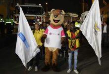 Mascota de los Juegos Panamericanos Junior se presentó en Bogotá