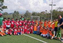 En Saladoblanco, escuelas deportivas cumplen fogueos en la región