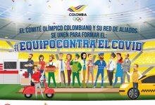 Comité Olímpico y aliados se unen contra el COVID 19
