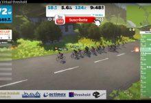 Rueda de prensa de la Clásica virtual de ciclismo, este jueves
