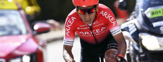 Quintana tranquilo con su podio en el Tour de l'Ain