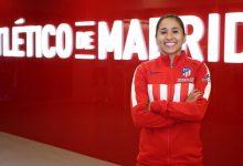 Carolina Arias, por fuera del Atlético de Madrid