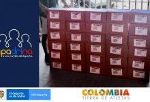 Programa del Ministerio del Deporte dona mercados en Tumaco