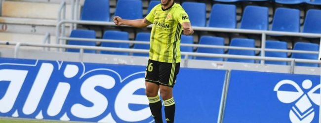 Luis Javier Suárez sale del Zaragoza