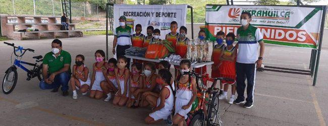 Alegría en Acevedo por su triunfo en Huila Crece Saltando