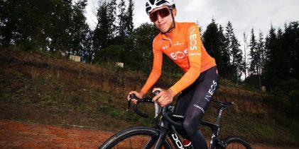 Bernal tercero en el inicio del Criterium du Dauphiné