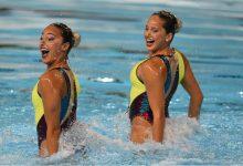 Dupla de natación artística busca el cupo a las olimpiadas