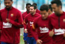 Messi se unió a los entrenamientos grupales en el Barcelona