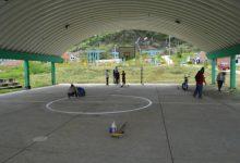 Limpieza y mantenimiento de escenarios deportivos en San Agustín