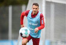 Arias volvió a los entrenamientos con el Leverkusen