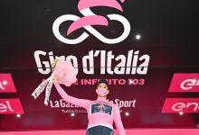 Campeón contrarreloj es el primer líder del Giro