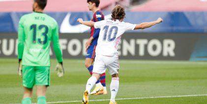 Real Madrid venció al Barcelona en su casa