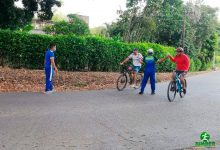 Jumder Rivera acompaña a la comunidad en la actividad física