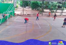 Jornada de mantenimiento y embellecimiento de escenarios deportivos en Rivera
