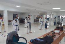 Cumplido campamento departamental de taekwondo