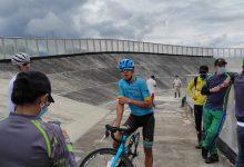 Harold Tejada recorrió pista del velódromo de Pitalito