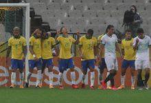 Goleada brasileña sobre Bolivia