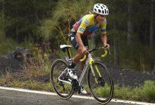 Ecuatoriano conquista el Etna en el Giro