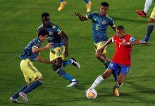 Empate in extremis de Colombia ante Chile