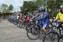 Desarrollado ciclopaseo familiar en San Agustín