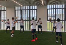 Sigue la preparación del equipo nacional sub – 20