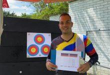 Daniel Pineda, semifinalista de torneo virtual de arquería