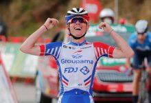 Francés gana en una jornada sin cambios en La Vuelta
