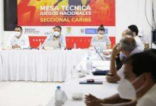 Caribe colombiano fue escenario de mesas técnicas de los Juegos Nacionales