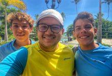 Tenistas junior colombianos en el circuito internacional