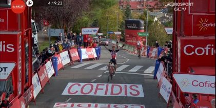 Wellens vence y Roglic sigue de primero en La Vuelta