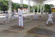 Karate retomó sus habituales entrenamientos