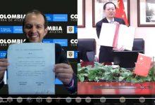 Colombia y China firman memorando de cooperación deportiva