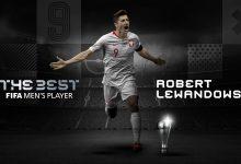 Lewandowski, el mejor jugador del mundo