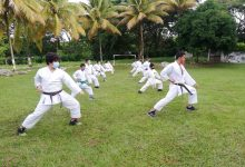 Karate terminó el 2020 con campamento