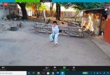 Karateca opita logra podios en eventos virtuales