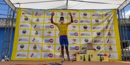 Campos sigue como puntero en la Vuelta al Tachira