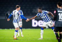 Gol de Córdoba en derrota del Hertha Berlín