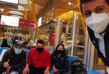 Colombianos del Movistar ya están en España