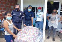 Entregadas ayudas a damnificados por incendio en el norte de Neiva
