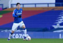 James y su nivel de cara al próximo juego del Everton