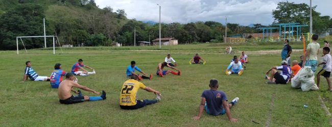 Invitación en Suaza a participar del plan de actividad física