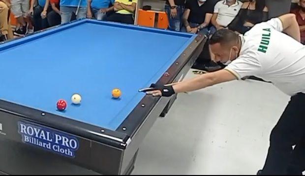 Huilense logró segundo lugar en torneo de billar