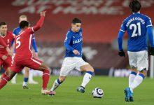 James fue protagonista en triunfo del Everton