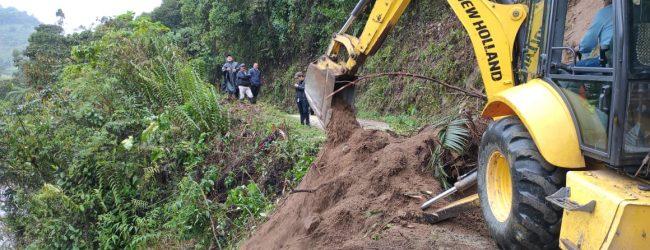 Gobernación entregó balance preliminar por lluvias