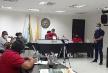 Director del Inderhuila, presente en el Concejo de La Plata