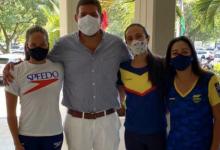 Colombia participó de encuentro virtual de natación artística