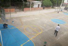 Mantenimiento de escenarios deportivos en Rivera
